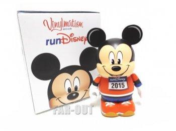 バイナルメーション runDisney 2015 ラン・ディズニー ミッキー マラソン走者 オレンジ フィギュア Disney Vinylmation 【セール】