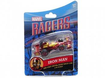 ディズニーレーサー メタルダイキャストカー マーベル アイアンマン Iron Man テーマパーク限定