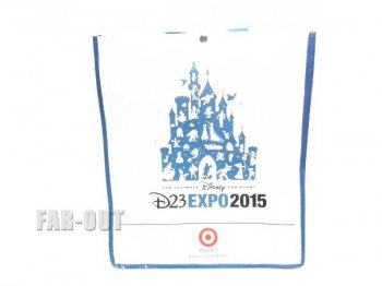 D23 Expo USA 2015 スーベニア ショッピングバッグ バックパック リュックサック ディズニー 鞄 エコバッグ 【セール】