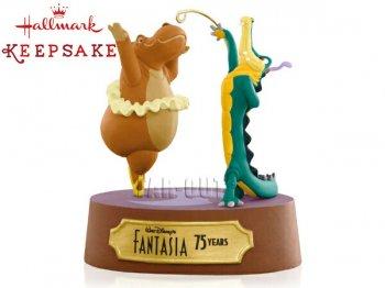 ホールマーク 2015 オーナメント ファンタジア ヒッポ&アリゲーター サウンド&アクション付き ディズニー Fantasia 75th Anniversary