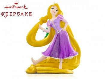 ホールマーク 2015 オーナメント 塔の上のラプンツェル w/ パスカル ディズニー Rapunzel and Pascal