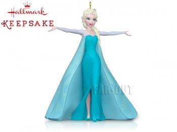 ホールマーク 2015 オーナメント アナと雪の女王 エルサ シンギング サウンド付き Let it Go ディズニー