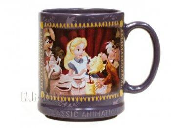 ふしぎの国のアリス マグカップ クラシックアニメーション D.ストア限定 不思議の国のアリス ディズニー