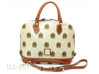 DL ディズニーランド クラブ33 ロゴ ドゥーニー&バーク サッチェルバッグ ドームバッグ 鞄