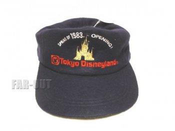 東京ディズニーランド SPRING OF 1983 OPENING ダークブルー ベースボールキャップ グランドオープン記念 TDL 帽子