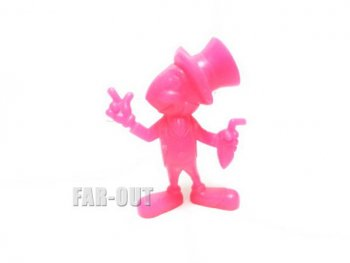 ピノキオ ジミニー・クリケット PVCフィギュア MARX ピンク ラージサイズ 1971年 ヴィンテージ ディズニー