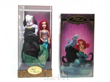 リトルマーメイド アリエル&アースラ ヒーロー&ヴィランズ フェアリーテイル デザイナーコレクション コレクタードール 人形