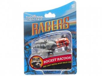 ディズニーレーサー ガーディアンズ・オブ・ギャラクシー ロケット・ラクーン Rocket Raccoon アライグマ メタルダイキャスト ミニカー テーマパーク限定