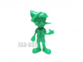 ピノキオ PVCフィギュア MARX グリーン ラージサイズ 1971年 ヴィンテージ ディズニー