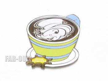 ピノキオ ジミニー・クリケット ラテアート Latte's with Character ピンズ ディズニーテーマパーク限定
