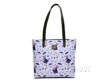 ドゥーニー&バーク メリーポピンズ トートバッグ ラージサイズ Dooney & Bourke ディズニーテーマパーク限定 鞄