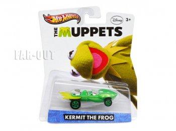 ザ・マペッツ カーミット ホットウィール メタルダイキャスト ミニカー The Muppets Hot Wheels ディズニー