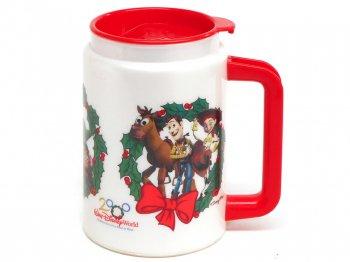 トイストーリー スーベニアマグカップ ハッピーホリデー WDW 1999年 クリスマス ウォルトディズニーワールド