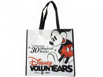 D23 Expo USA 2013 ショッピングエコバッグ VOLUNTEARS 30周年記念 ミッキー プロモーション D23エキスポ ボランティアーズ