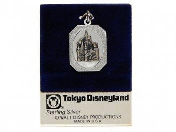 東京ディズニーランド シルバー ペンダントトップ シンデレラ城 キャッスル 1983年 TDL