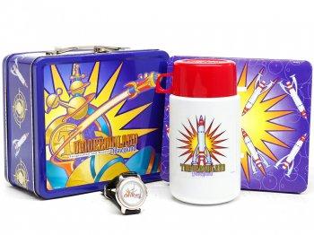 トゥモローランド ランチボックス入り 記念腕時計 サーモス水筒付き キャスト限定版 ディズニー THERMOS