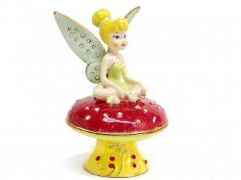 ティンカー・ベル ジュエリー トリンケットボックス エナメルボックス フィギュア ディズニー ティンカーベル Tinkerbell Jeweled Box
