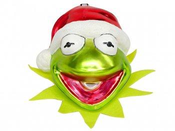 カーミット クリスマス サンタヘッド ガラス製 オーナメント ストア限定 ディズニー