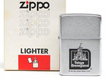 東京ディズニーランド 1983 グランドオープン記念 ZIPPO ジッポー ライター TDL