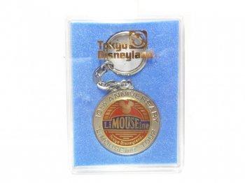 東京ディズニーランド 10周年記念 リマウジン 1993年 メダル キーホルダー キーチェーン ケース入り TDL LiMOUSEine Tour