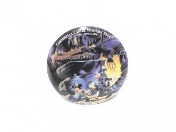 東京ディズニーランド シンデレラ城 ミステリーツアー 2006年 ミッキー ドナルド グーフィー 缶バッジ TDL 缶バッチ