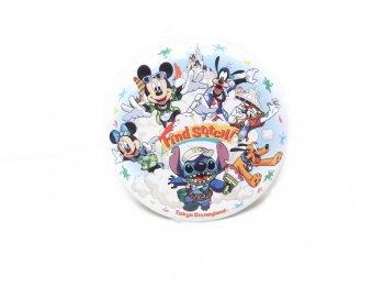 東京ディズニーランド リロ&スティッチのフリフリ大騒動 Find Stitch! 2006年 ミッキー Fab5 缶バッジ TDL 缶バッチ