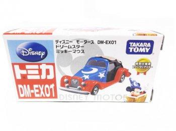 ディズニー モータース DM-EX01 ドリームスター ミッキーマウス ファンタジアスター トミカ メタルダイキャスト ミニカー 2000年代 TAKARA TOMY