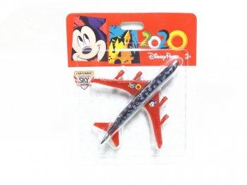MATCHBOX メタルダイキャスト 2020 ボーイング747 飛行機 ディズニーテーマパーク限定