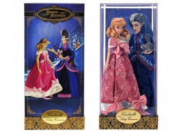 シンデレラ&トレメイン夫人 w/ルシファー ヒーロー&ヴィランズ フェアリーテイル デザイナーコレクション コレクタードール 人形 ディズニーストア限定 Disneys Fairytale