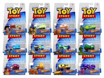 ホットウィール トイストーリー メタルダイキャストカー 12点セット ディズニー ピクサー ミニカー TOY STORY Hot Wheels