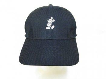 ミッキー Nike ナイキ ゴルフキャップ 帽子 ブラック シルバー刺繍 ディズニーテーマパーク限定