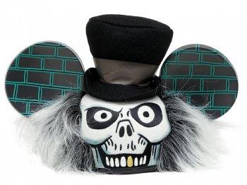 ホーンテッドマンション ハットボックスゴースト マウスイヤーハット ディズニーテーマパーク限定 帽子 Hat Box Ghost