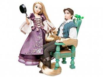 塔の上のラプンツェル ラプンツェル&フリン・ライダー プリンセス&プリンス フェアリーテイルシリーズ デザイナーコレクション コレクタードール 人形 ディズニーストア