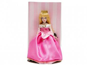 眠れる森の美女 オーロラ姫 ピンクドレス ポーセリンビスク ドール 人形 スリーピングビューティー ディズニー Sleeping Beauty Aurora Brass Key Doll