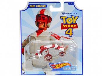 ホットウィール トイストーリー4 デューク・カブーン メタルダイキャストカー ディズニー ミニカー TOY STORY 4 Hot Wheels Duke Caboom