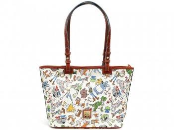 ドゥーニー&バーク トイストーリー4 トートバッグ 鞄 ディズニーテーマパーク限定 Dooney & Bourke Toy Story 4 Tote Bag