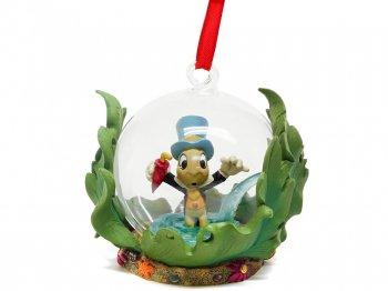 ピノキオ ジミニー・クリケット ガラスドーム オーナメント スケッチブックコレクション 2017年 ディズニーストア限定 Pinocchio Jiminy Cricket