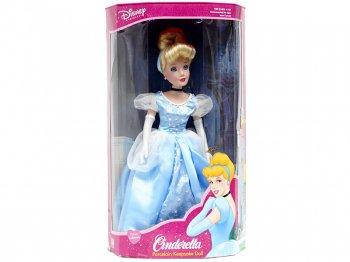 シンデレラ ポーセリンビスク ドール ラージサイズ 2003年 ディズニー 人形 Porcelain Doll Brass Key
