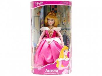 眠れる森の美女 スリーピングビューティー オーロラ ピンクドレス ポーセリンビスク ドール ラージサイズ 2002年 ディズニー 人形 Porcelain Doll Brass Key