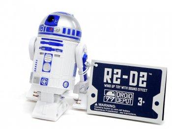 スター・ウォーズ ギャラクシーズエッジ R2-D2 ドロイド Wind-Up Sound Effect サウンド付き ぜんまい トイ フィギュア Star Wars Galaxy's Edge