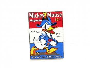 ドナルドダック 提督 ミッキーマウスマガジン表紙 ピンズ 限定100 ディズニーオークション限定 Donald Admiral Duck Disney Auctions Pin