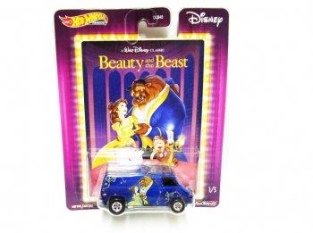 ホットウィール 美女と野獣 ベル&ビースト メタルダイキャストカー バン GM SUPER VAN ディズニー ミニカー Hot Wheels PREMIUM Beauty & Beast