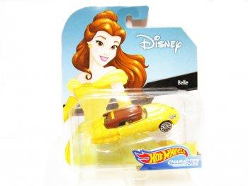 ホットウィール 美女と野獣 ベル メタルダイキャストカー ディズニー ミニカー Hot Wheels Belle