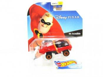 ホットウィール Mr.インクレディブル メタルダイキャストカー ディズニー ミニカー Hot Wheels Mr.Incredible
