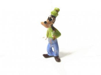 グーフィー ヘイゲンリネカー ボーンチャイナ フィギュア 1950年代 ヴィンテージ ディズニー フィギュアリン ポーセリン 陶器製 Goofy Hagen-Renaker Bone China