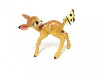 バンビ ヘイゲンリネカー ボーンチャイナ フィギュア 1950年代 ヴィンテージ ディズニー フィギュアリン ポーセリン 陶器製 Bambi Hagen-Renaker Bone China