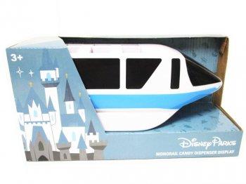 ディズニーランド モノレール ブルー ペッツ入れ ディスプレイ フィギュア テーマパーク限定 青 ペッツスタンド PEZ Monorail Candy Dispenser Display
