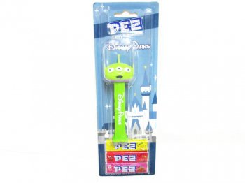 PEZ トイストーリー エイリアン ディズニーテーマパーク限定 ペッツ Toy Story Alien Disneyland