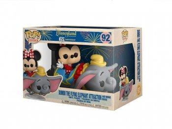 空飛ぶダンボ ミニー FUNKO POP RIDES ! ファンコ ビニールフィギュア アトラクョン ディズニーランド65周年記念 ラージサイズ Dumbo The Flying Elephant