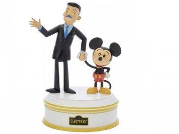 ウォルトディズニー & ミッキーマウス パートナーズ ビニール フィギュア ディズニーランド65周年記念 Partners Walt Disney and Mickey Mouse